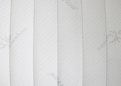 Bamboo Mattress Cover Stripes