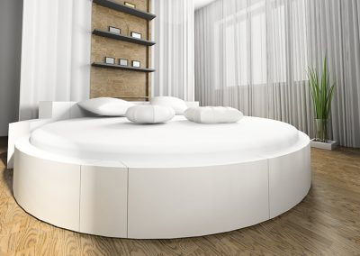 Modern Giant Round Bed