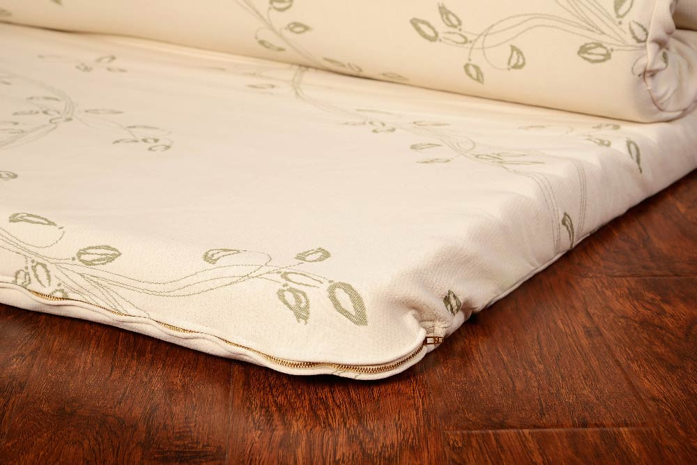 Wave Certified Organic Natural Rubber Pillow Top