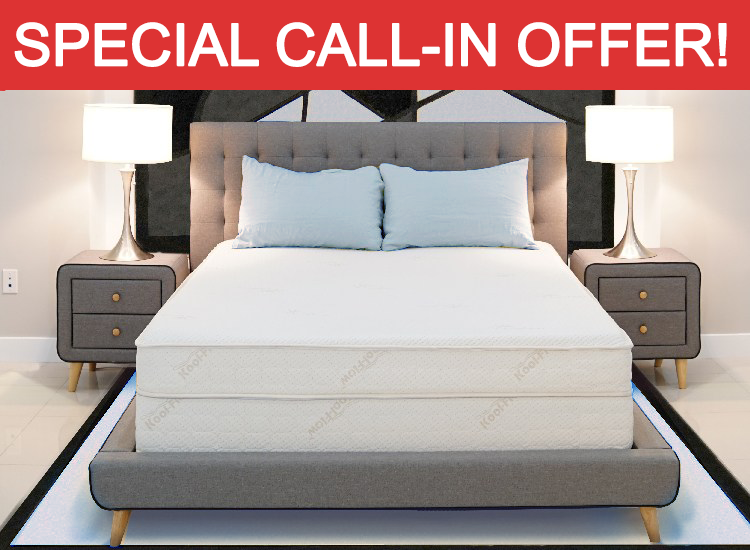 Air-Pedic Special Call-in Offer!
