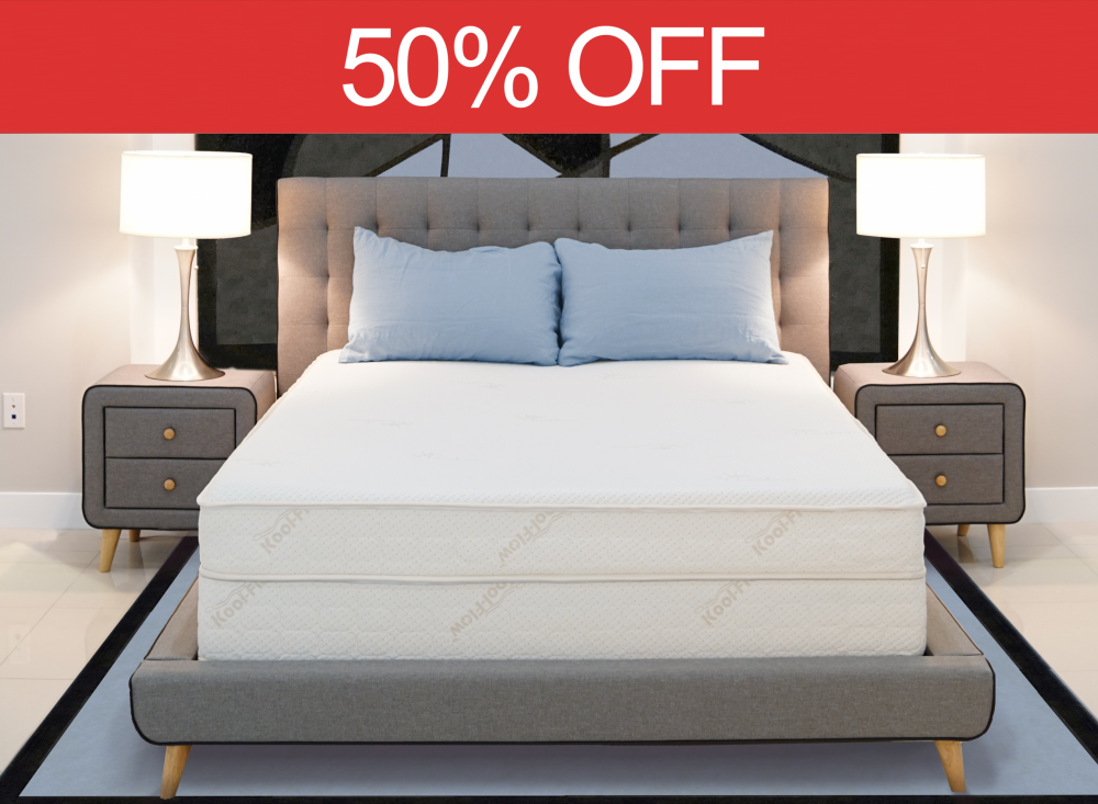 50% off mattress sale