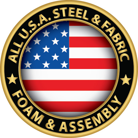 All USA Steel, Fabric, Foam and Assembly