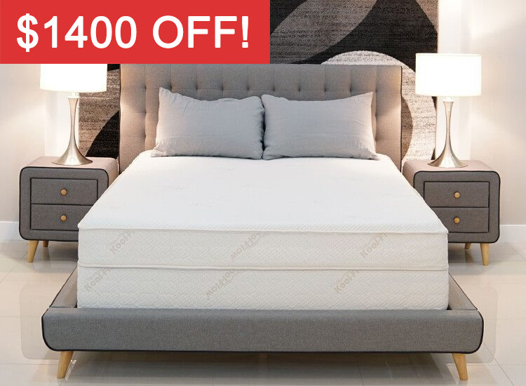 The Air-Pedic™ 1000 Luxury Series